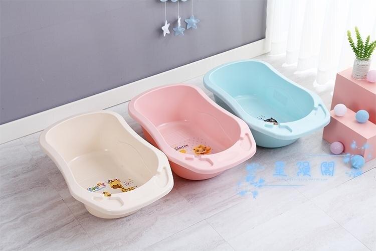 兒童浴盆 兒童浴盆1-3-6歲洗澡神盆兒童小孩子盤可坐躺便攜式洗澡盆桶【99購物節】
