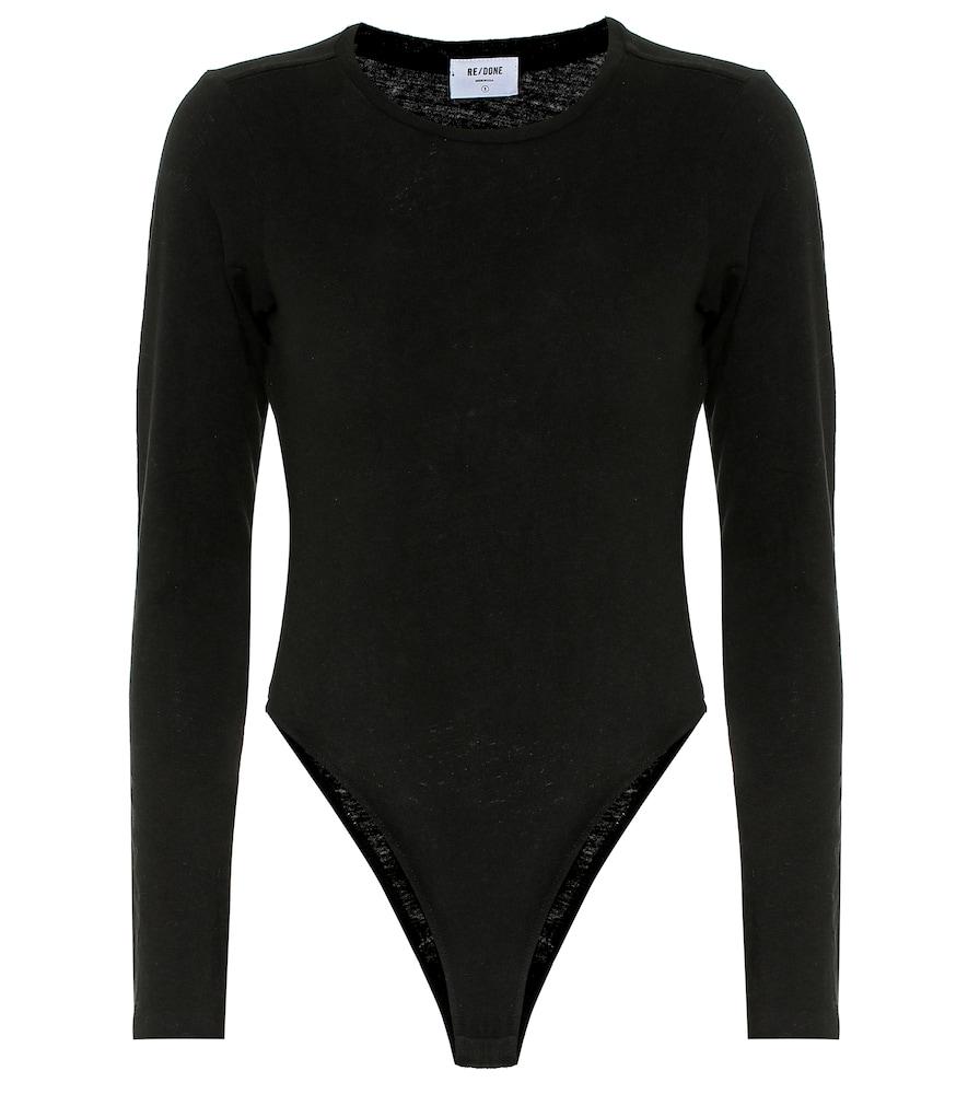 60s cotton-jersey bodysuit