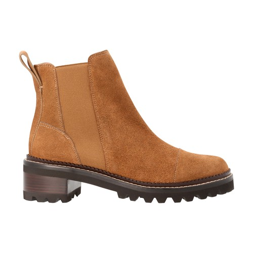 Mallory Flat suede boots