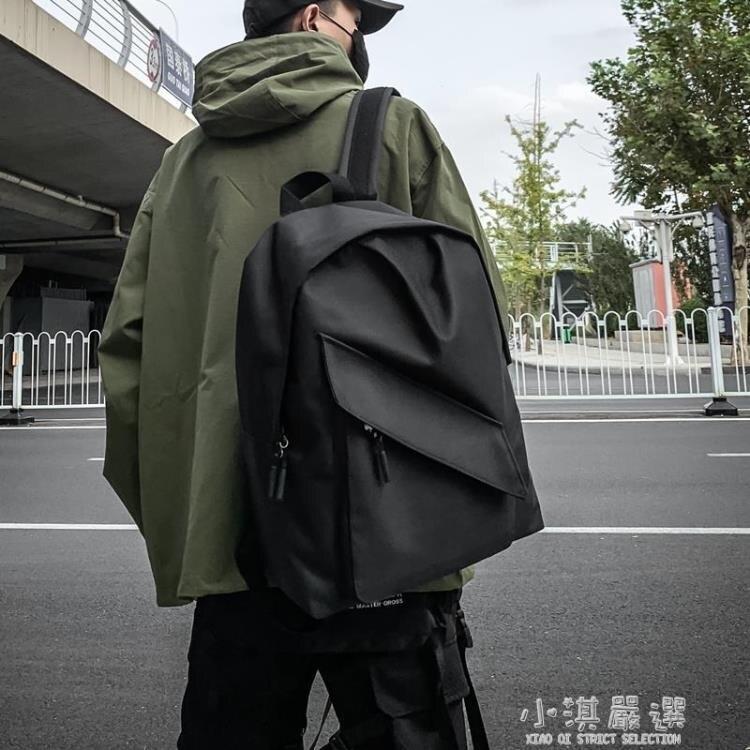 男士背包日系雙肩潮包女簡約休閒旅行包時尚潮流書包男大學生