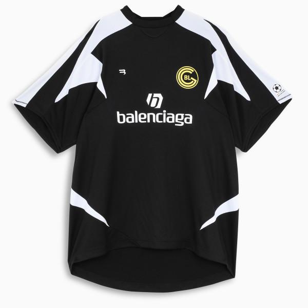 Balenciaga Black/white Soccer t-shirt