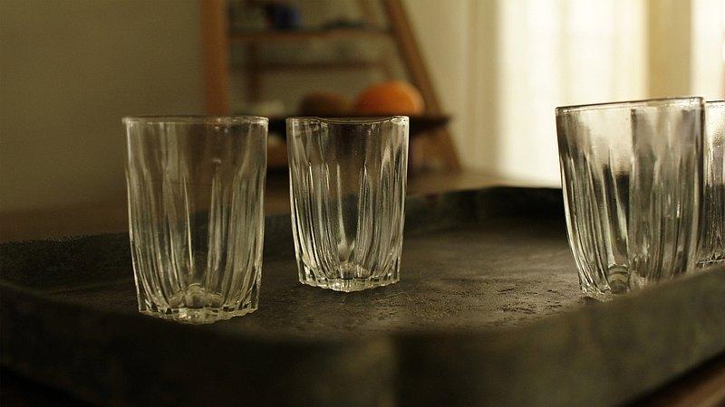 日本製玻璃小酒杯
