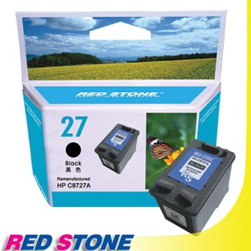 RED STONE for HP C8727A環保墨水匣(黑色)NO.27
