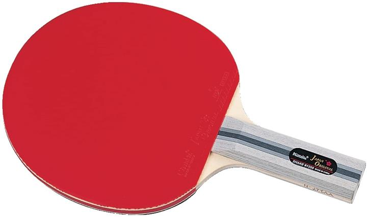【日本代購】Nittaku)乒乓球 球拍 刮痧手持 帶2個球 休閒 遊玩 可用於比賽