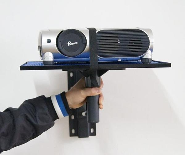 投影儀支架 投影機托盤支架 家用伸縮折疊投影儀床頭壁掛墻吊架子【限時8折鉅惠】