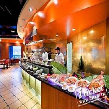 台中金典酒店12F柏麗廳雙人自助平日下午茶優惠餐-一套一張
