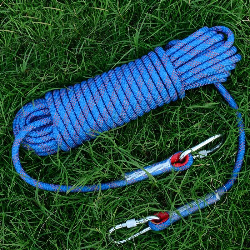 逃生繩安全繩救生繩登山繩子耐磨高空戶外繩 免運
