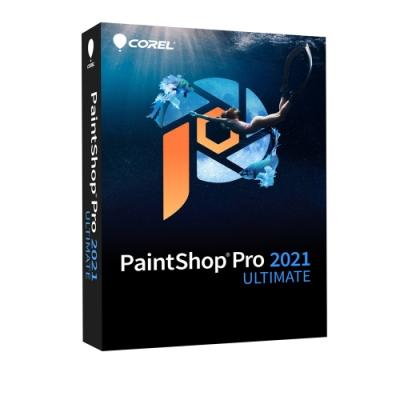 Corel PaintShop Pro 2021 旗艦完整版盒裝 (中/英)
