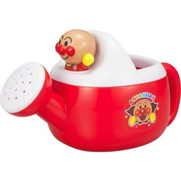 小禮堂 麵包超人 迷你造型澆水器玩具 沙灘玩具 灑水器 澆花器 (紅白)