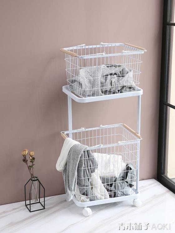 防水髒衣籃 浴室放乾凈衣物的贓藍框衛生間裝衣婁桶 髒衣服收納筐