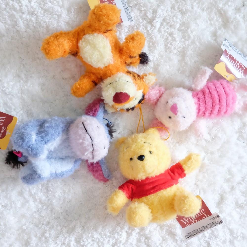 《迪士尼Disney》日本商品 SEGA 小熊維尼絨毛吊飾 Winnie the Pooh 正版授權