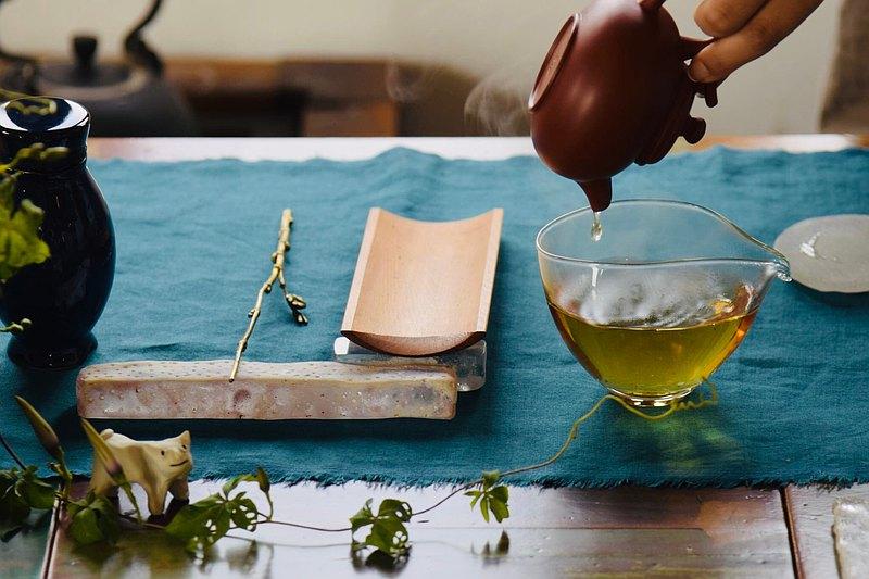 第一次參加的茶席-遇見九份古厝茶坊 沉浸在美景中 探索美的可能