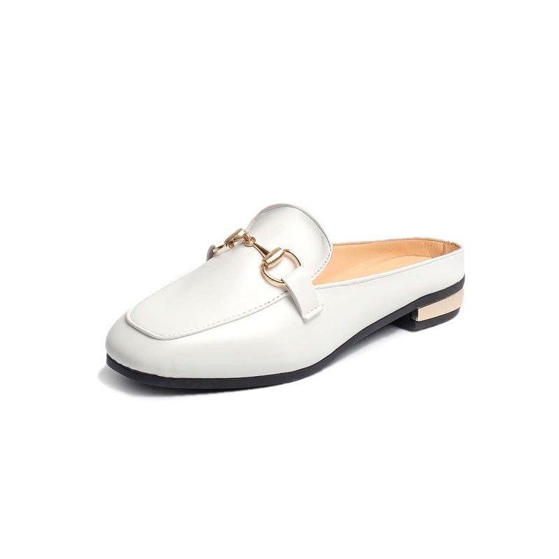 穆勒鞋 懶人包頭半拖鞋女夏外穿2020新款韓版百搭平底時尚網紅ins穆勒鞋【全館免運 限時鉅惠】