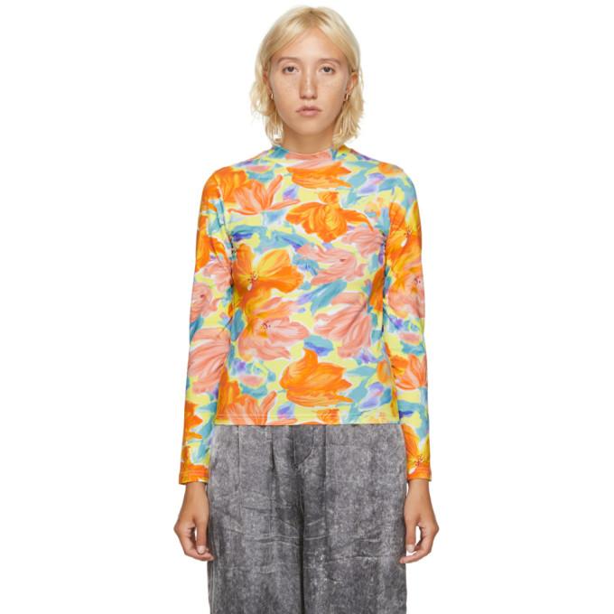 Balenciaga 多色 Floral Print 高领衫