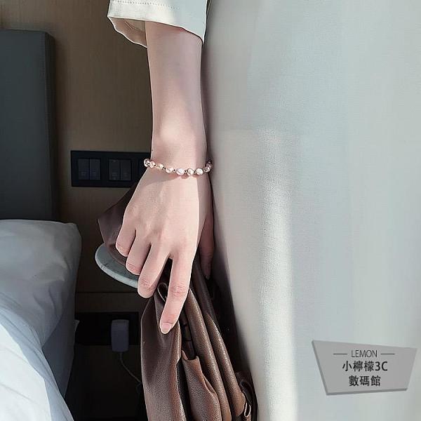 珍珠閨蜜手鍊手串首飾姐妹信物韓版【小檸檬3C】