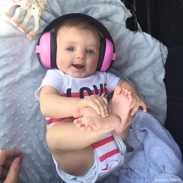 隔音耳罩 嬰兒隔音耳罩幼兒睡覺睡眠防吵降噪耳機寶寶坐飛機減壓噪音神器 瑪麗蘇