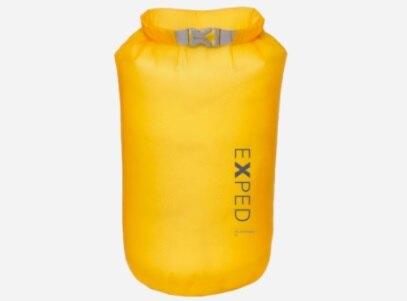 【【蘋果戶外】】Exped 瑞士 Fold Drybag UL【5L】黃 防水袋 S 泛舟溯溪打包袋