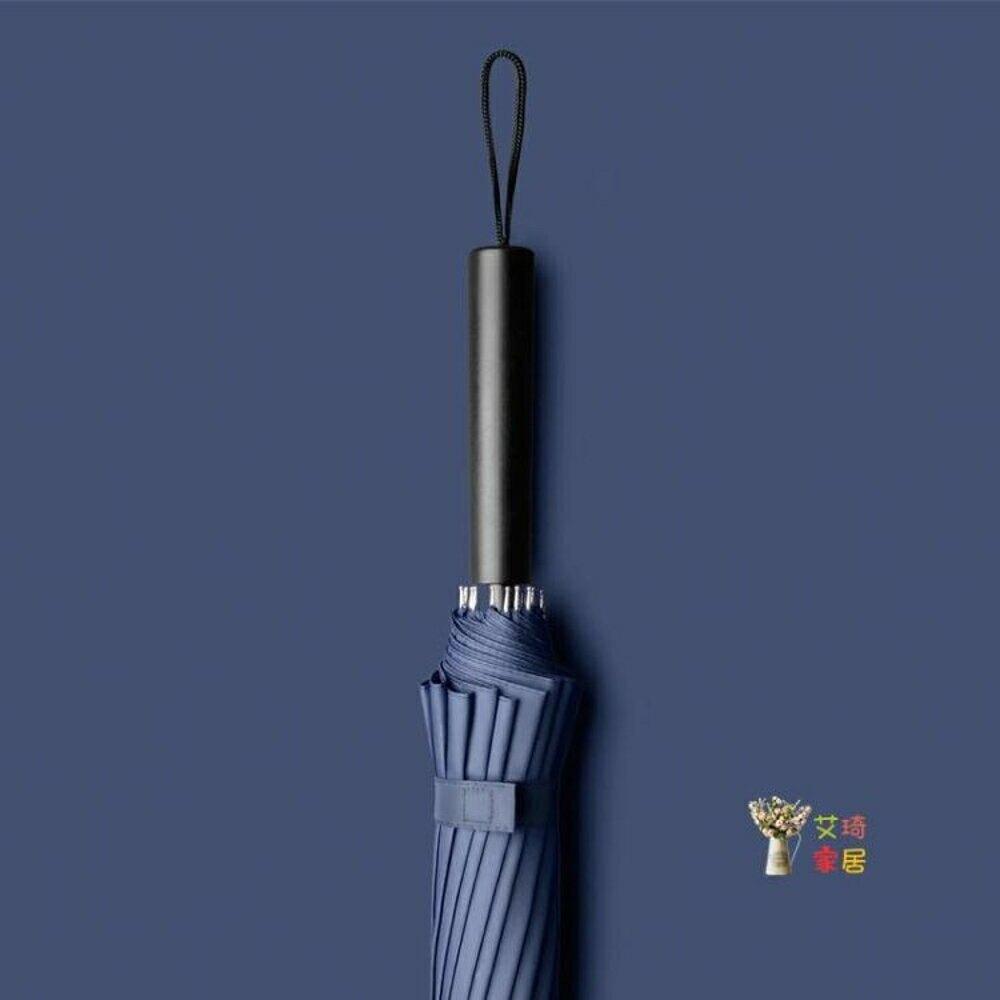 直立傘 雨傘長柄男s大號學生帥氣森系復古簡約超大直桿自動T 10色【99購物節】