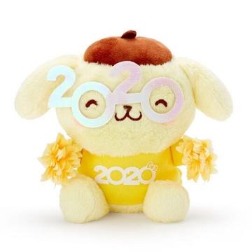 布丁狗 沙包絨毛玩偶娃娃《S.黃》沙包玩具.擺飾.2020花漾系列