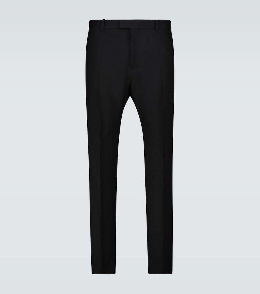 Slim-fit flared formal pants