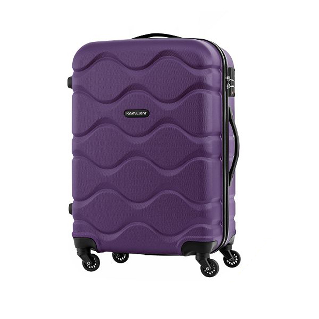 Kamiliant卡米龍 29吋Onda立體波浪防刮四輪硬殼TSA行李箱(紫)