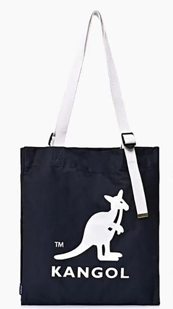 kangol 托特包大容量扁型可a4資料夾進口防水尼龍布簡易式主袋內三隔層可調整肩背帶