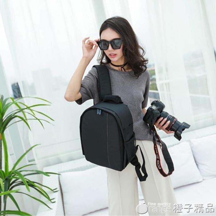 小巧相機包輕便雙肩男女防水佳能單反背包多功能小型簡約攝影包小SUPER 全館特惠9折