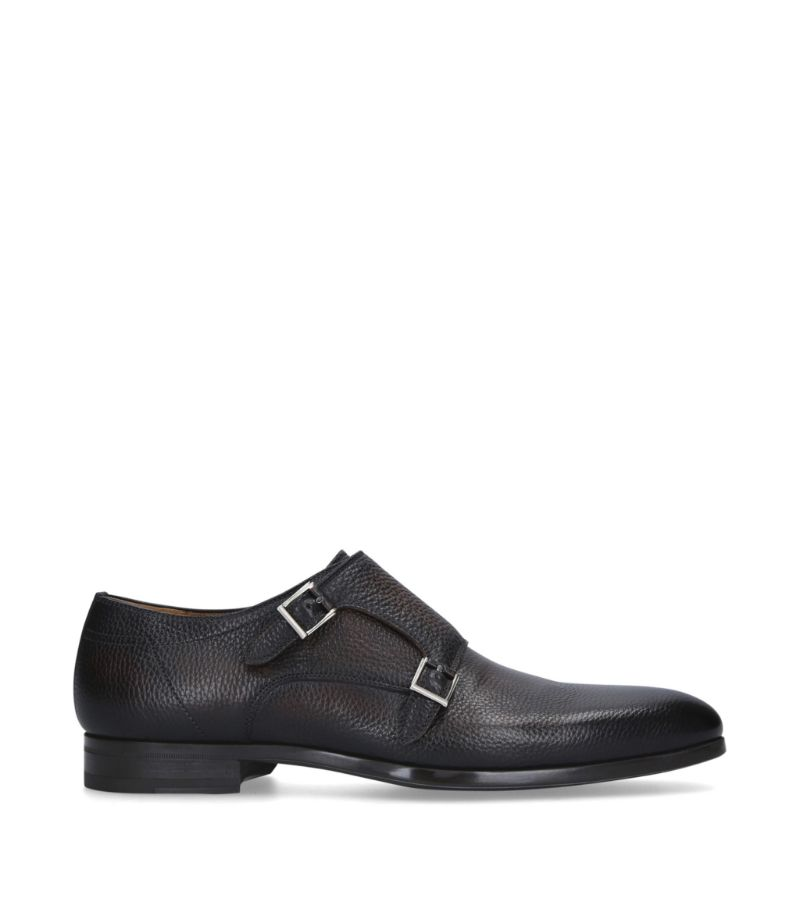 Magnanni Double Monk Buckle Loafers