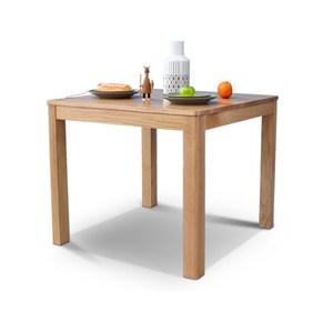 源氏木語鹿特丹橡木0.9M方型餐桌Y2855+餐椅Y90S63-原木色(一桌兩椅)