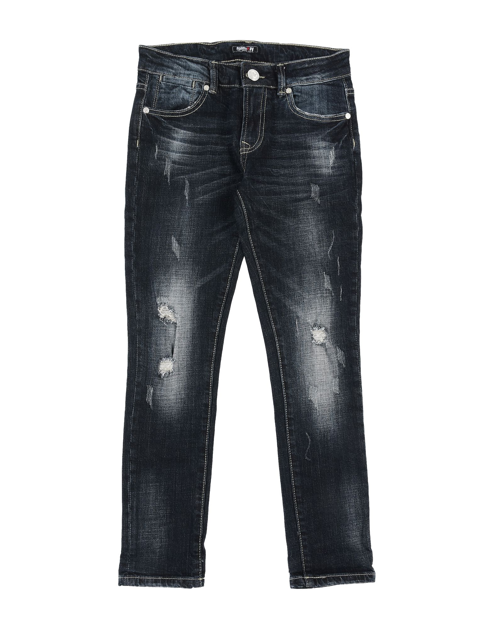 RONNIE KAY Denim pants - Item 42749861