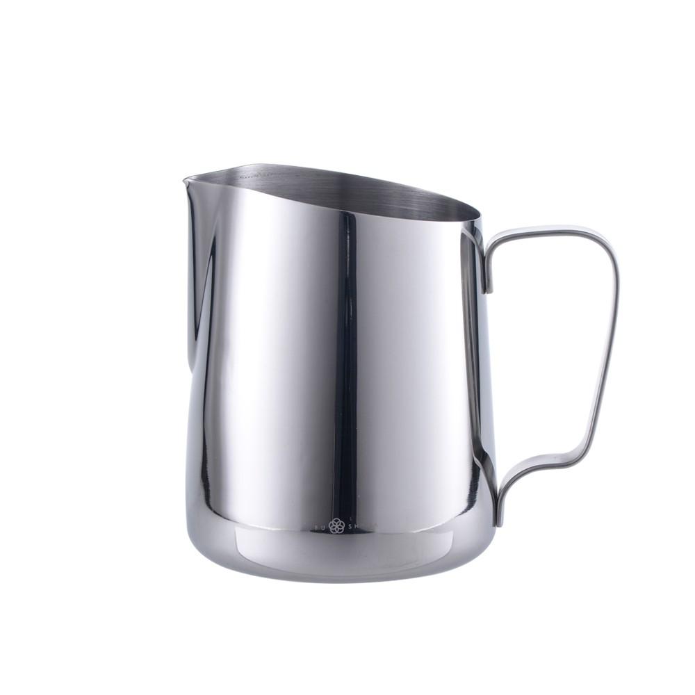 【FUSHIMA 富島】304不鏽鋼拉花杯1000ML(金屬原色)