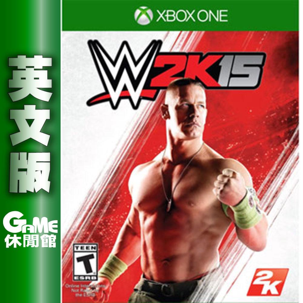 XBOXONE《激爆職業摔角 15 WWE 2K15》英文美版【盒裝現貨新品未拆】【GAME休閒館】