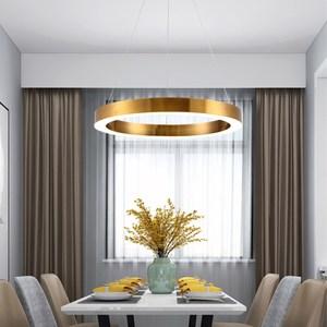 【H&R安室家】60cm LED同心圓吊燈