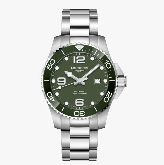 LONGINES 浪琴L37824066 康卡斯潛水系列陶瓷框機械腕錶 43mm
