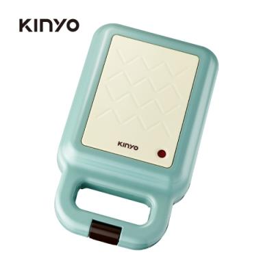 KINYO多功能三明治機/點心機/鬆餅機 藍色 SWM2378BU