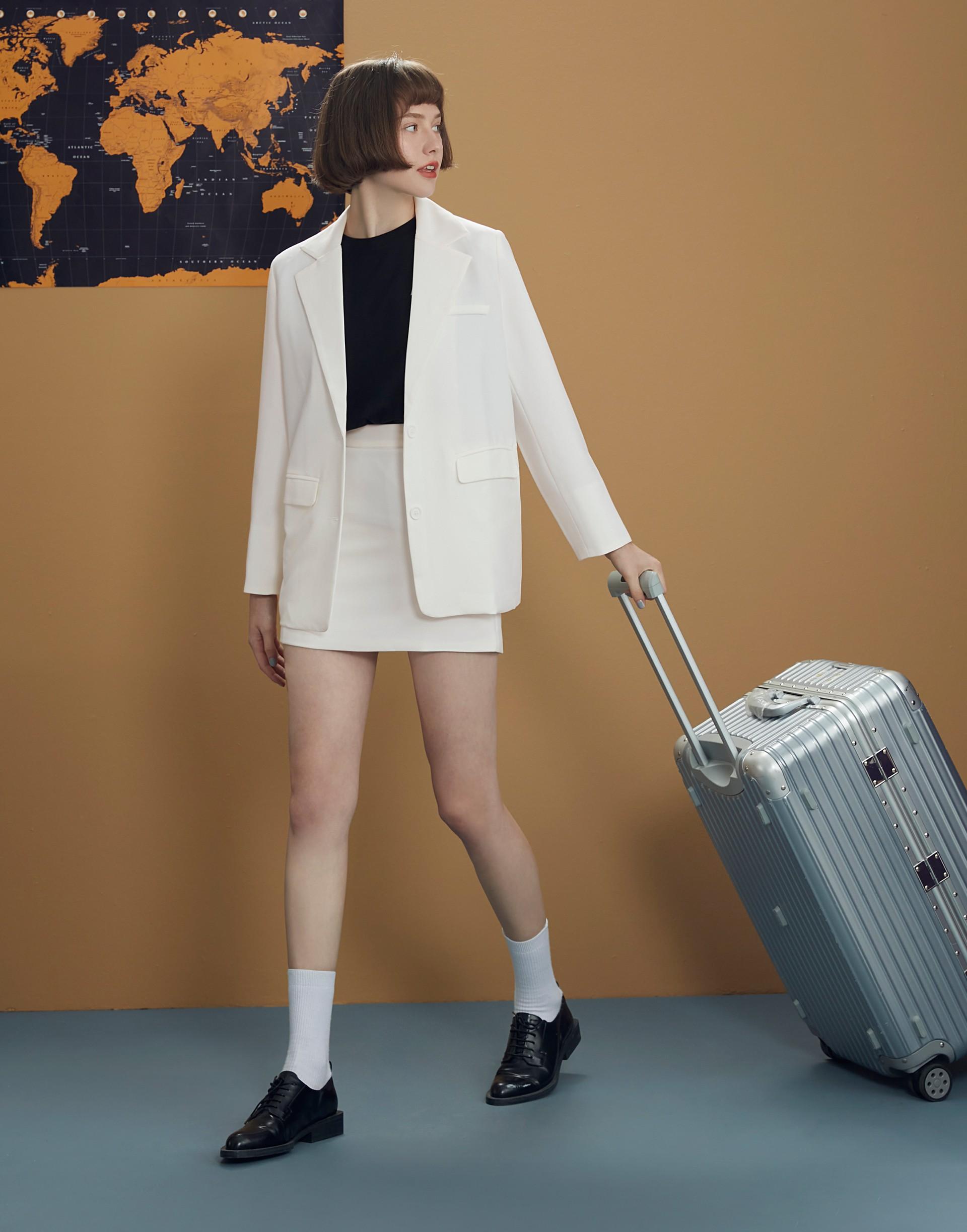 Urban style西裝短裙-女-Genquo