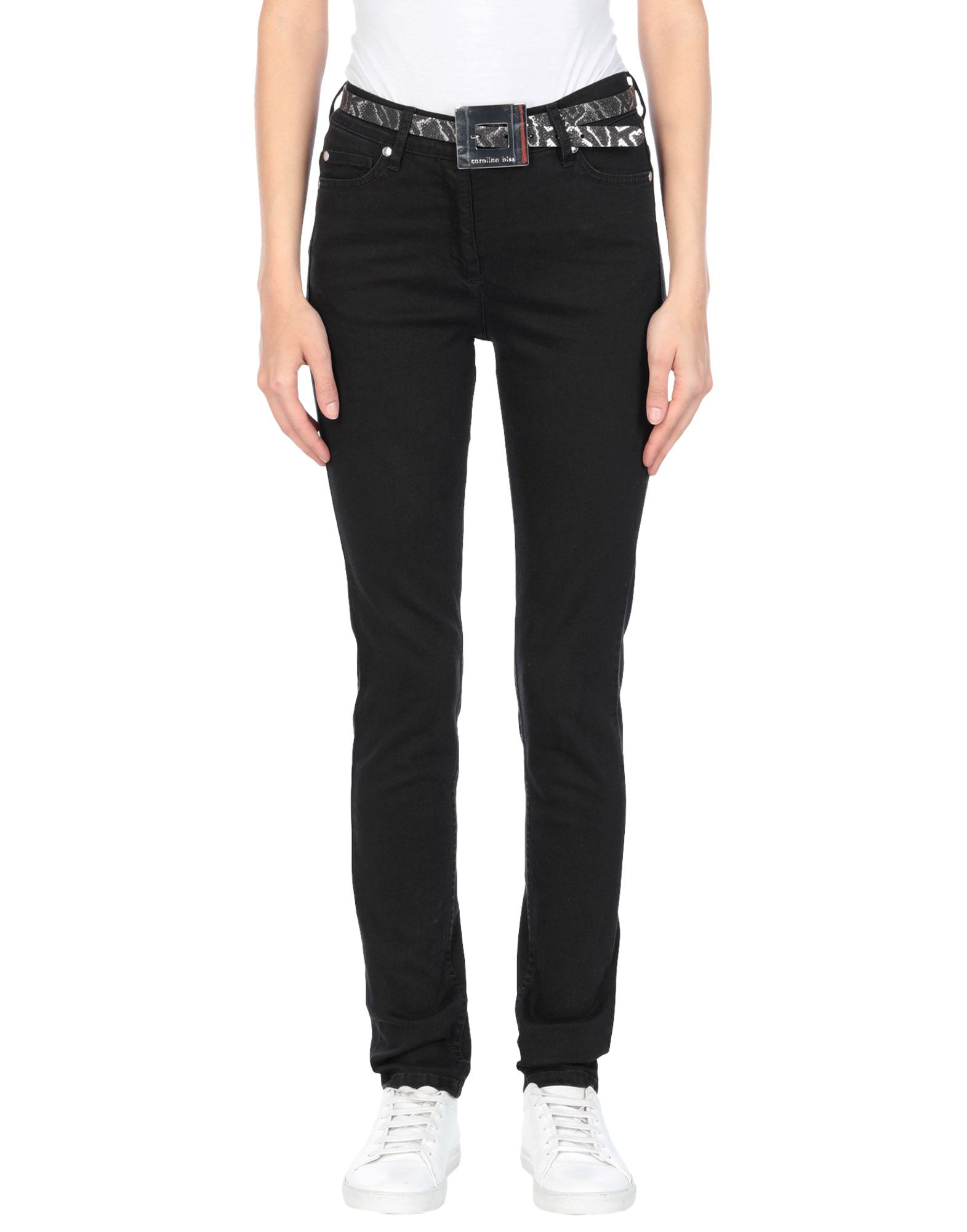 CAROLINE BISS Denim pants - Item 42741958