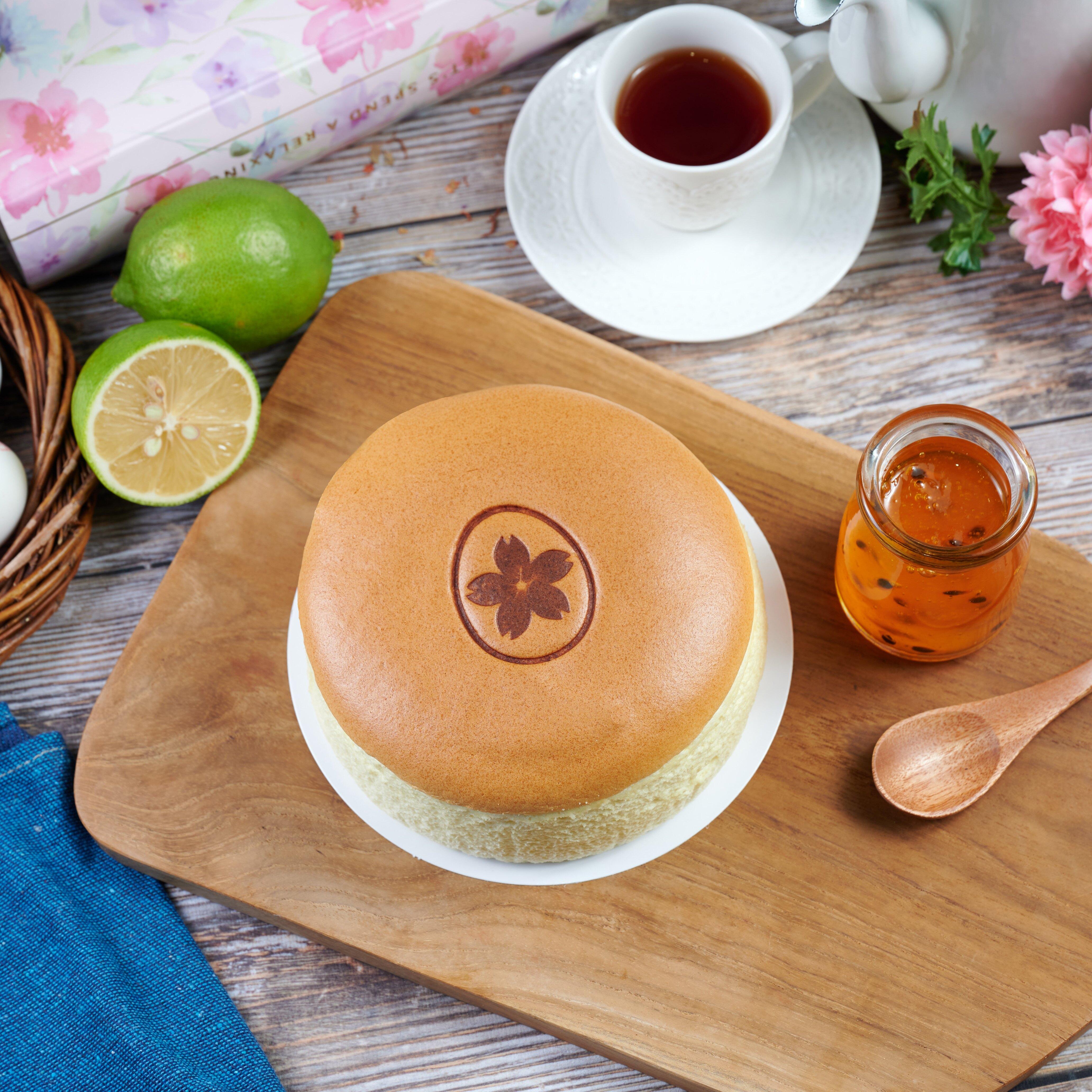 幸福屋 日式輕乳酪蛋糕 夏日微熱百香 6吋 伴手禮~彌月蛋糕~團購美食
