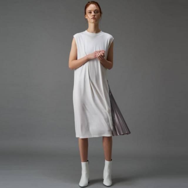 COLONY 2139 - 側邊打摺無袖洋裝