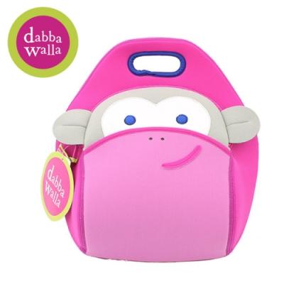 美國Dabbawalla瓦拉包 -粉紅猴子兒童手提包