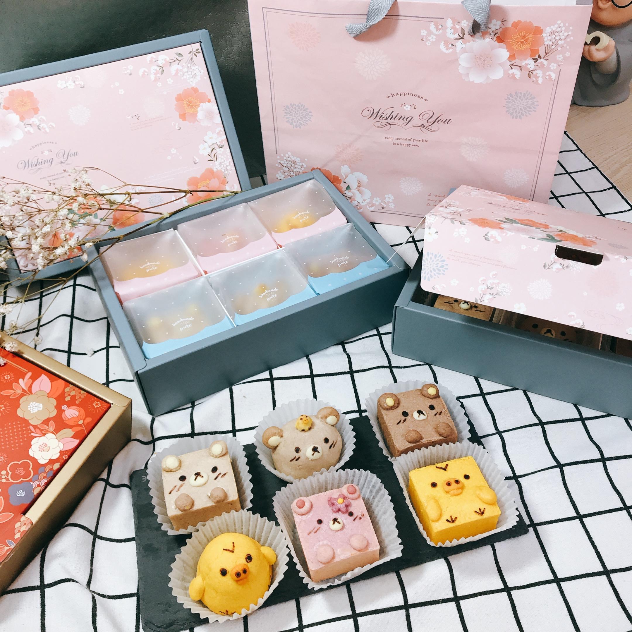 艾樂淇食糖 拉拉熊造型鳳梨鳳凰酥 (1組6個 )