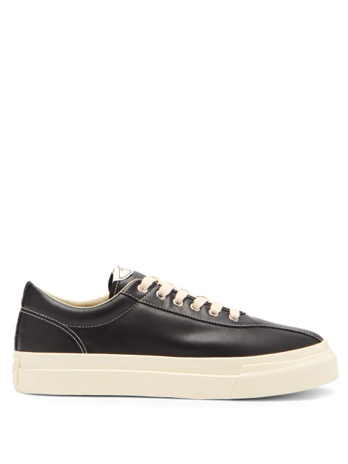 Stepney Workers Club - Dellow Leather Trainers - Mens - Black