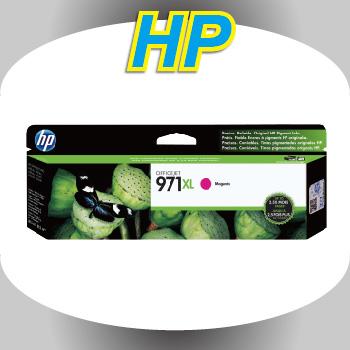 HP NO.971XL原廠紅色墨水匣(CN627AA)