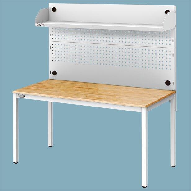 【辦公嚴選】天鋼 WE-58W+WQE-54 多功能桌 掛板 洞洞板 工業風 多用途桌 原木桌 萬用桌 耐用桌 工作桌
