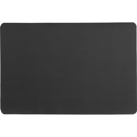 《KELA》長方雙面餐墊(黑)
