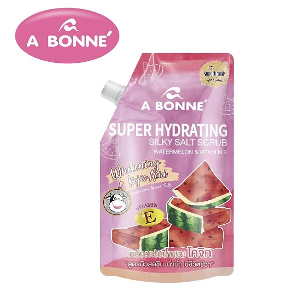 【A BONNE'】西瓜&維他命E身體去角質沐浴鹽