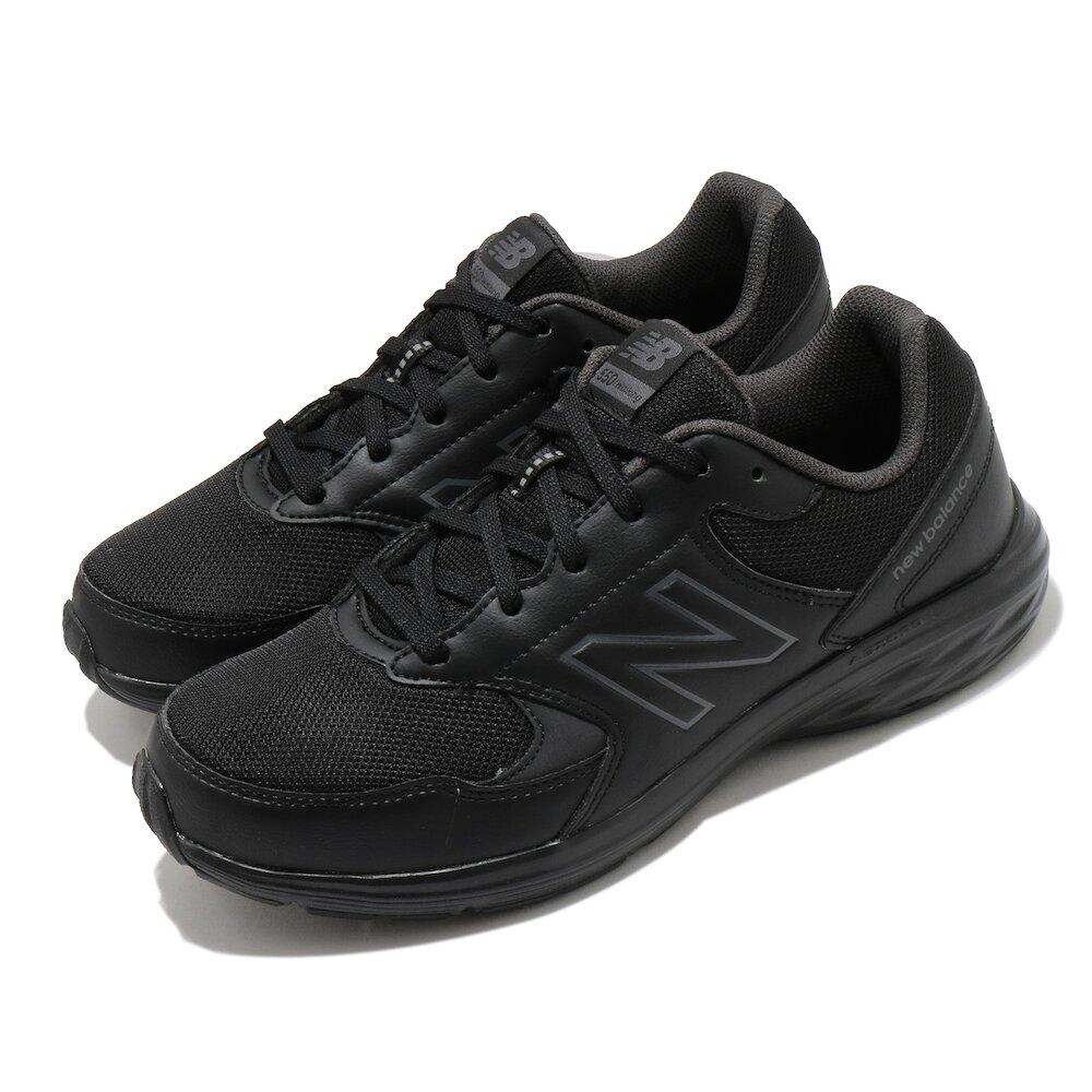 NEW BALANCE 慢跑鞋 550 Extra Wide 超寬楦 男鞋 紐巴倫 輕量 透氣 舒適 避震 穿搭 黑 [MW550BG24E]