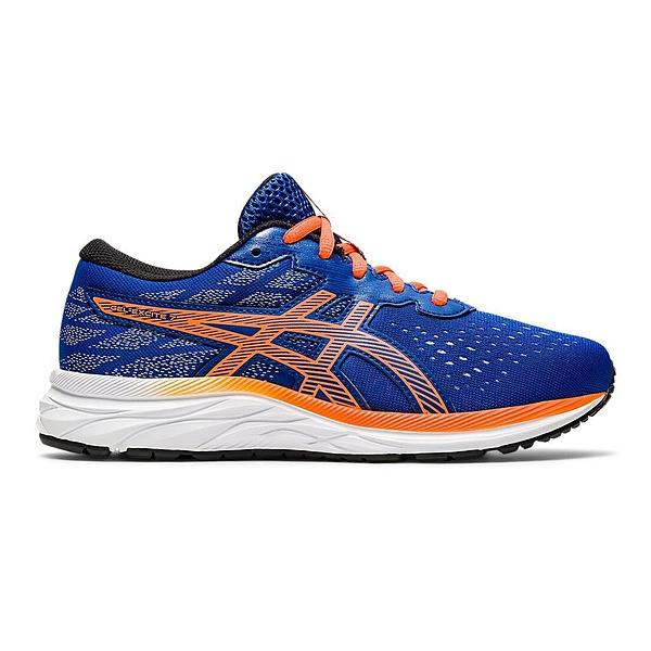 Asics PRE EXCITE 7 GS [1014A116-405] 大童鞋 運動 休閒 慢跑 校園 亞瑟士 藍 橘