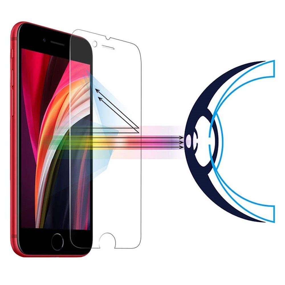 RetinaGuard 視網盾│iPhone SE2 / SE 2020 防藍光鋼化玻璃保護貼│4.7吋│ 9H硬度│非滿版│SGS認證