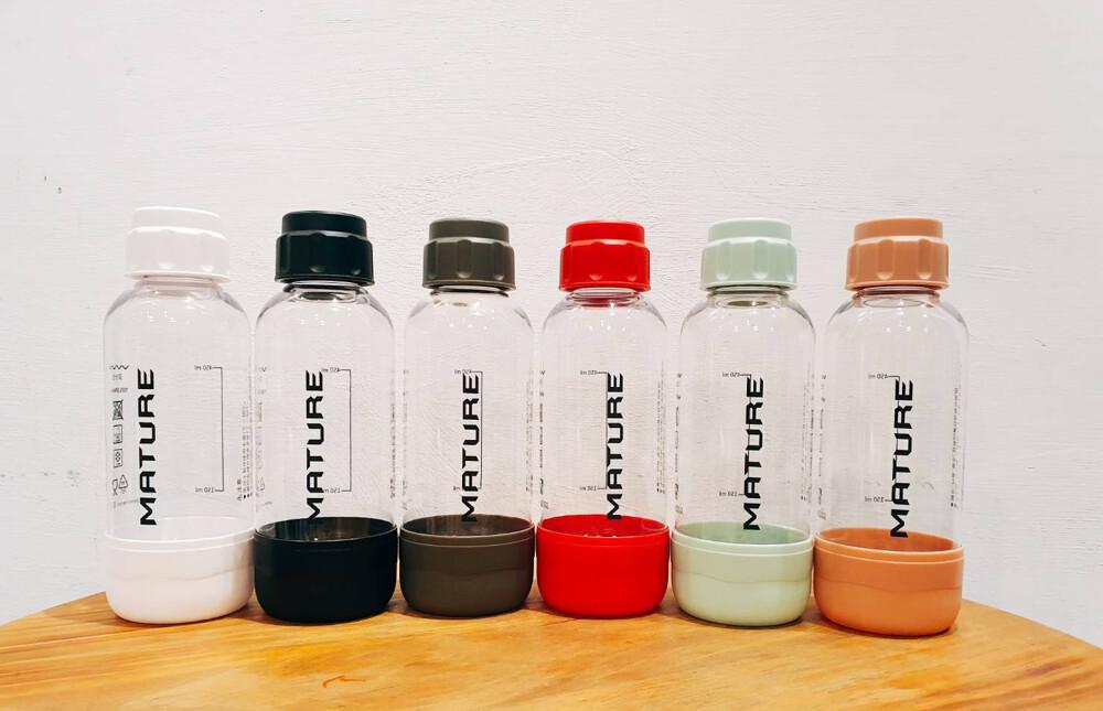 *瀚弘鋼瓶小棧*美萃器泡水機 水瓶 mature drinkmate 通用水瓶 犀牛機 500ml